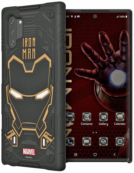 Samsung Galaxy Note10 и Galaxy Note10+ получили умные чехлы с Iron Man, Deadpool, Captain America и Spider-Man