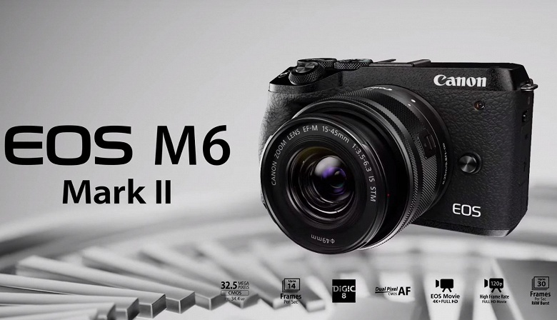 Видео дня: камера Canon EOS M6 Mark II