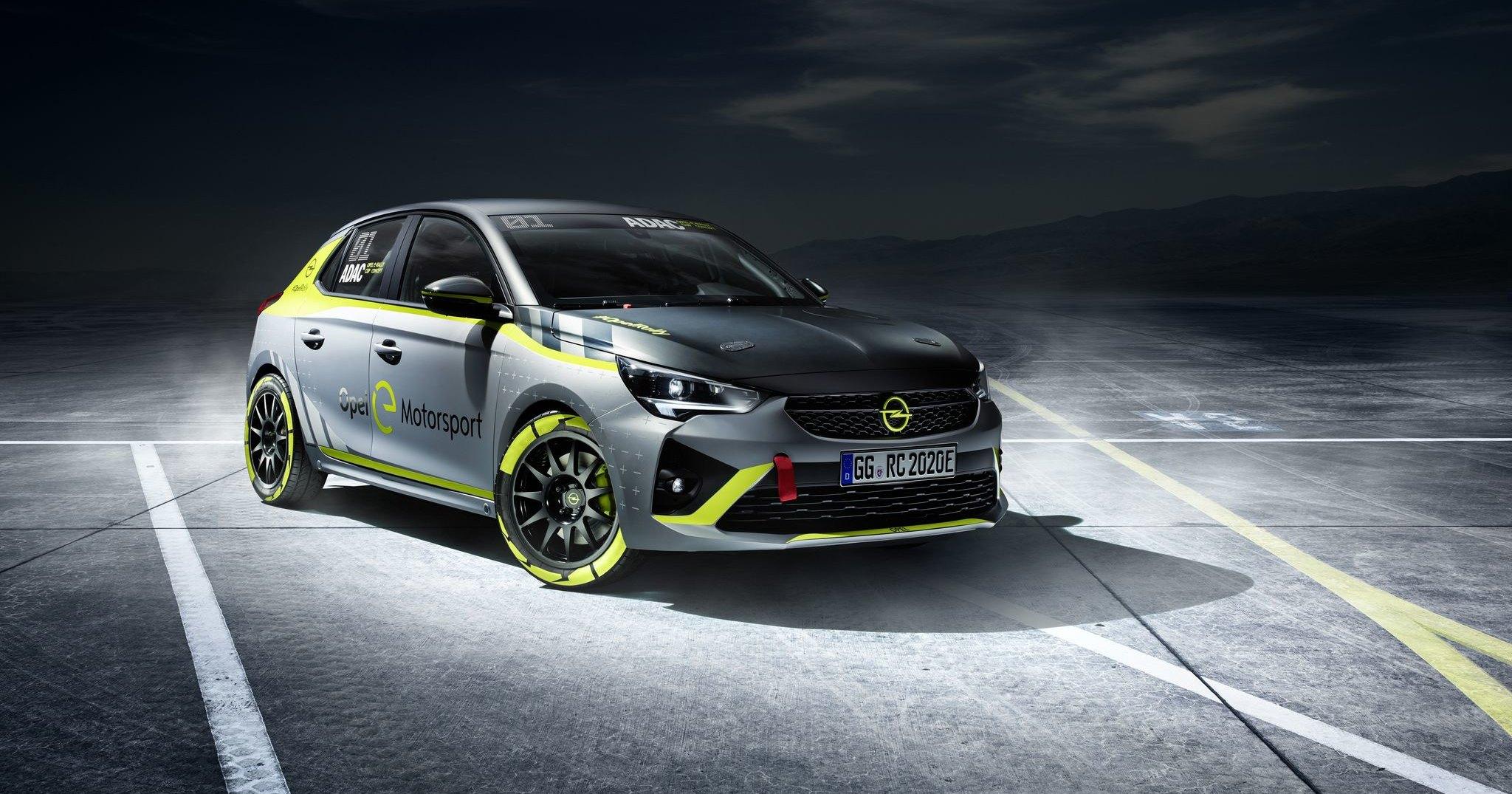 Opel представил первый в мире раллийный электромобиль