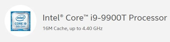 Первый Core i9 с TDP 35 Вт: Intel Core i9-9900T поступил в продажу