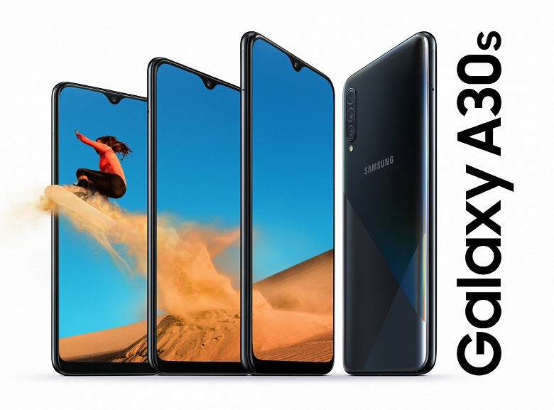 Обновлённый Samsung Galaxy A30s оказался ощутимо дороже модели Galaxy A30, хотя по ряду параметров новинка хуже