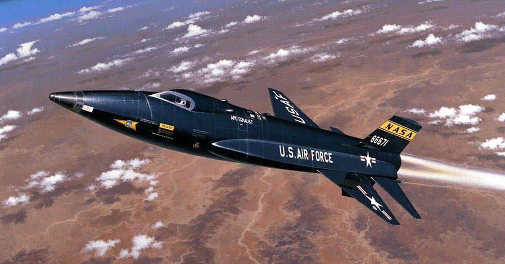 X-15: шаги к гиперзвуку