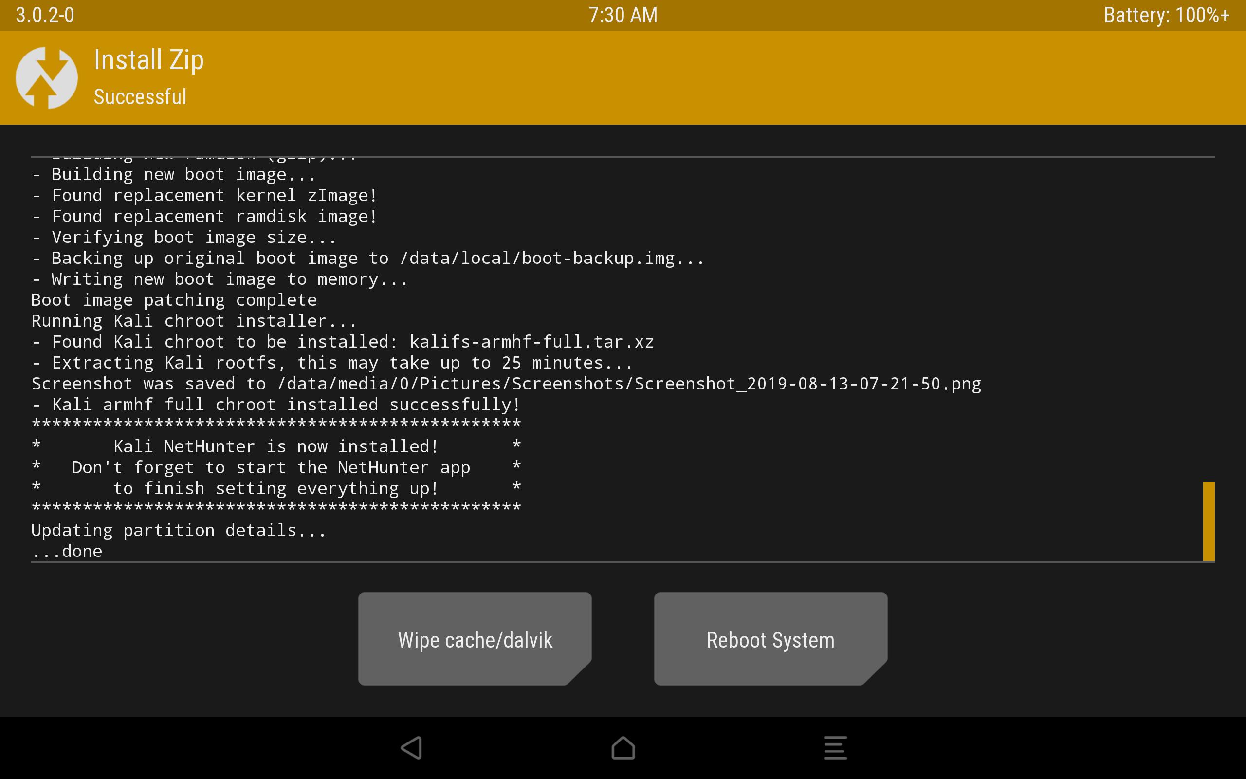 Kali Linux NetHunter на Android: зачем и как установить - 10