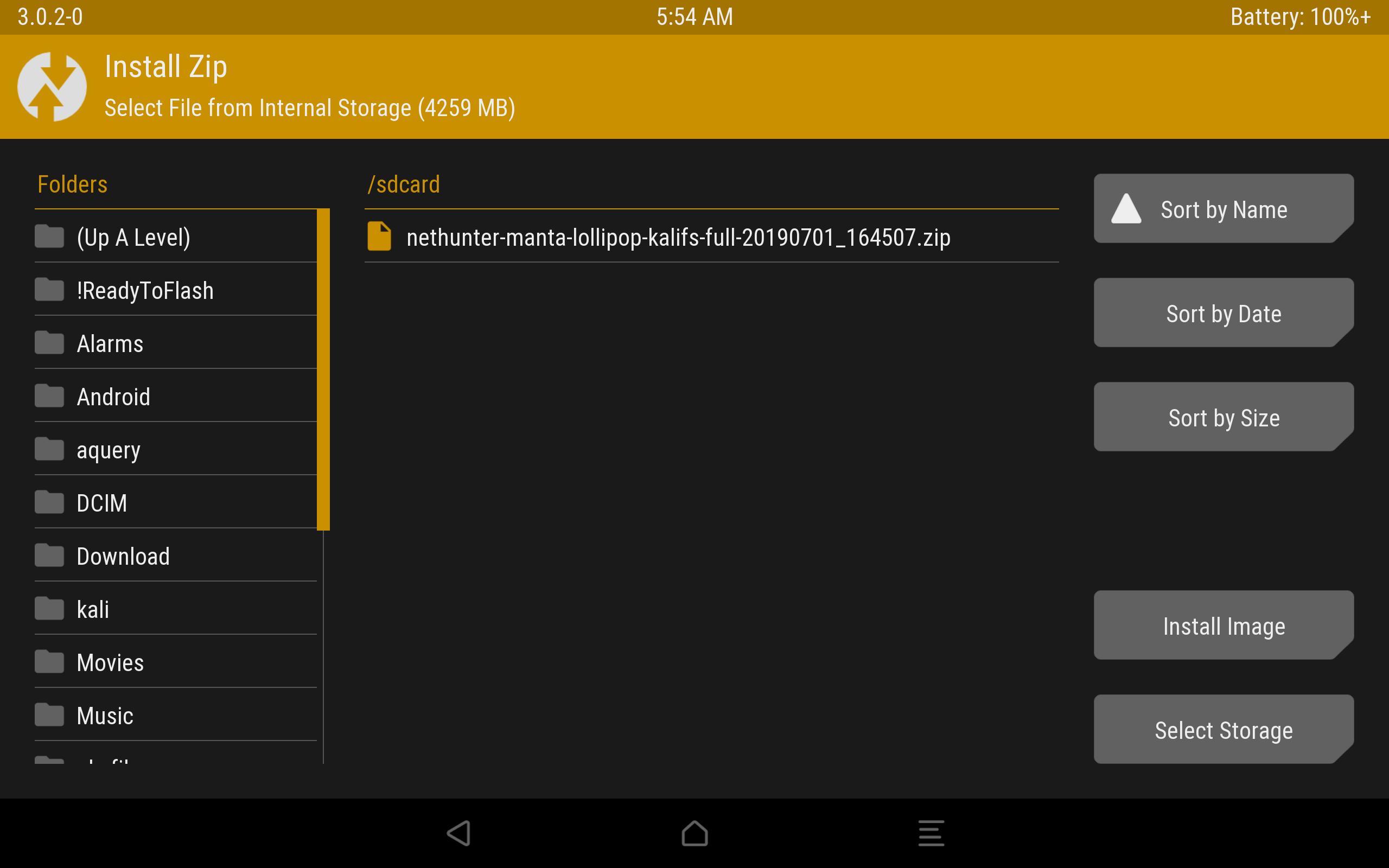 Kali Linux NetHunter на Android: зачем и как установить - 8