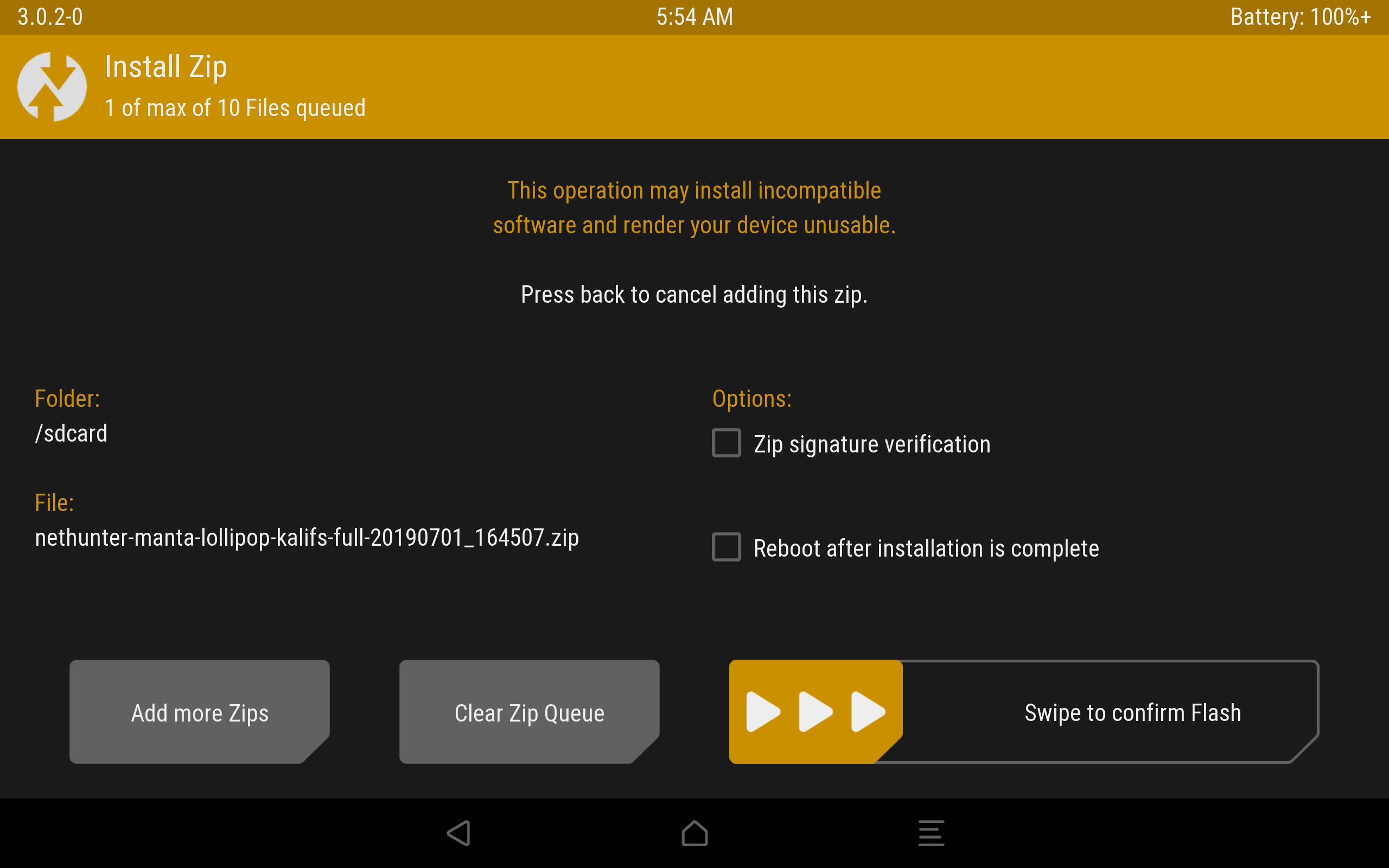 Kali Linux NetHunter на Android: зачем и как установить - 9