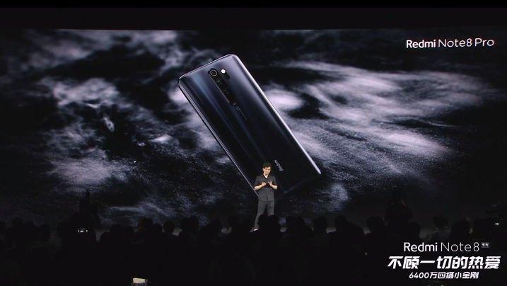 Представлен Redmi Note 8 Pro: игровой смартфон с отличной камерой