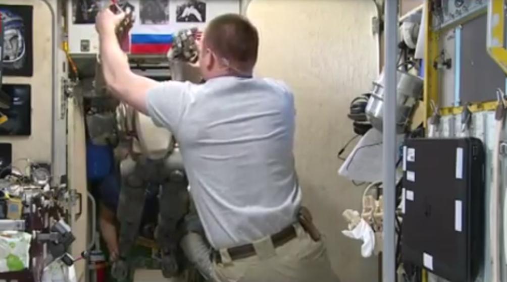 Робот FEDOR — много фото и даже видео с МКС, подготовка космонавта-оператора и первые испытания робота - 6