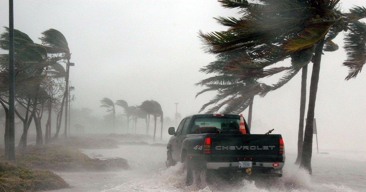 Ураган Дориан пришел в США