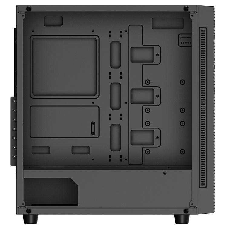 Корпус Deepcool Matrexx 55 Mesh: сетчатая панель и стенка из закалённого стекла
