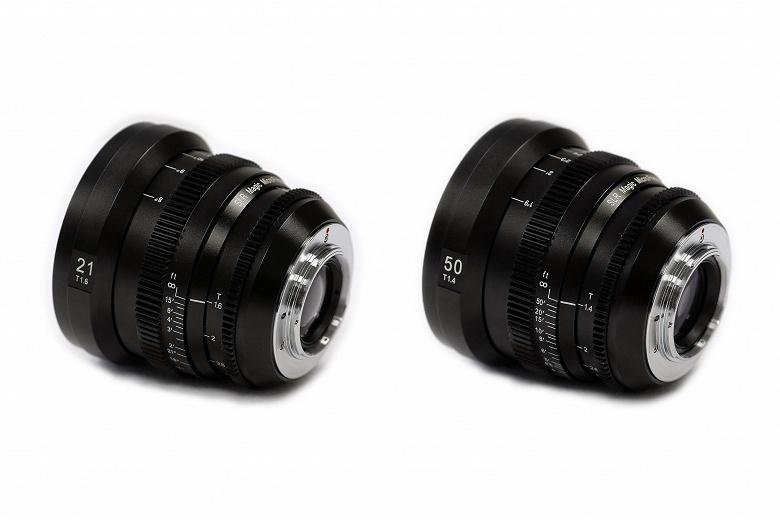 SLR Magic добавляет в линейку объективов MicroPrime CINE модели 21mm T1.6 и 50mm T1.4