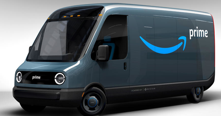 Amazon заказала 100 тысяч электрофургонов Rivian