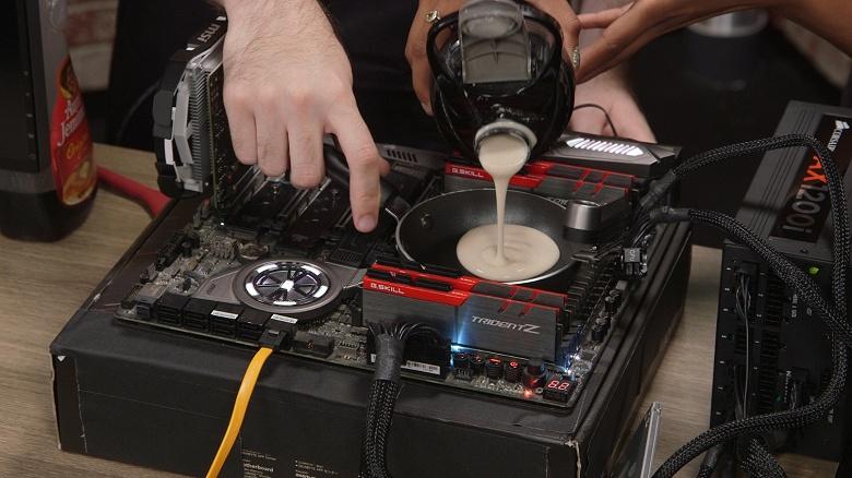 Процессорная битва века: CPU Intel лучше подходят для жарки панкейков