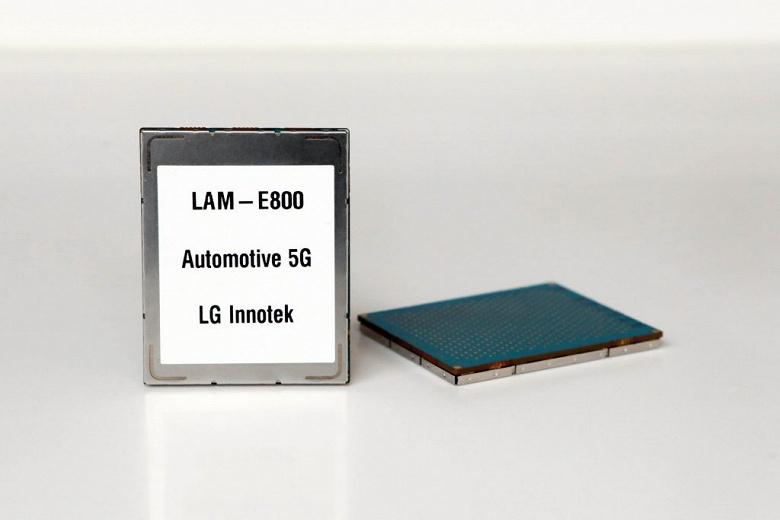 Компания LG Innotek представила первый в мире модуль связи 5G для автомобилей