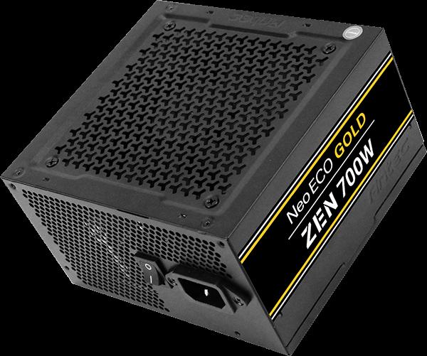 Серия блоков питания Antec NeoECO Gold Zen включает модели мощностью 500 Вт, 600 Вт и 700 Вт