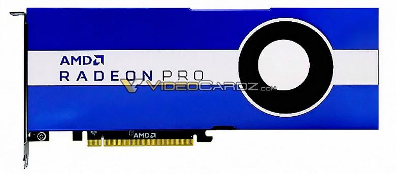 AMD готовит новую видеокарту поколения Navi для профессионалов