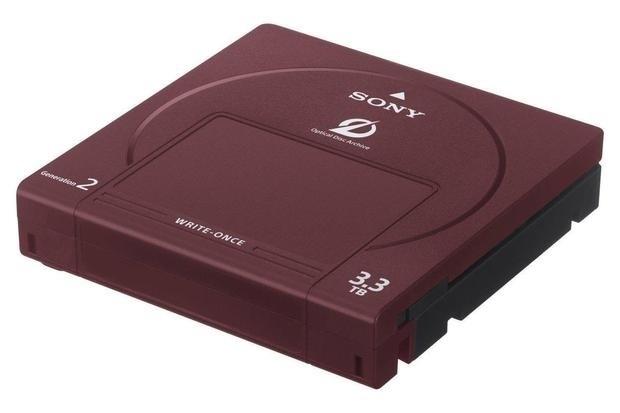 Sony представила третье поколение накопителей Optical Disc Archive: 5,5 Тбайт в одном картридже
