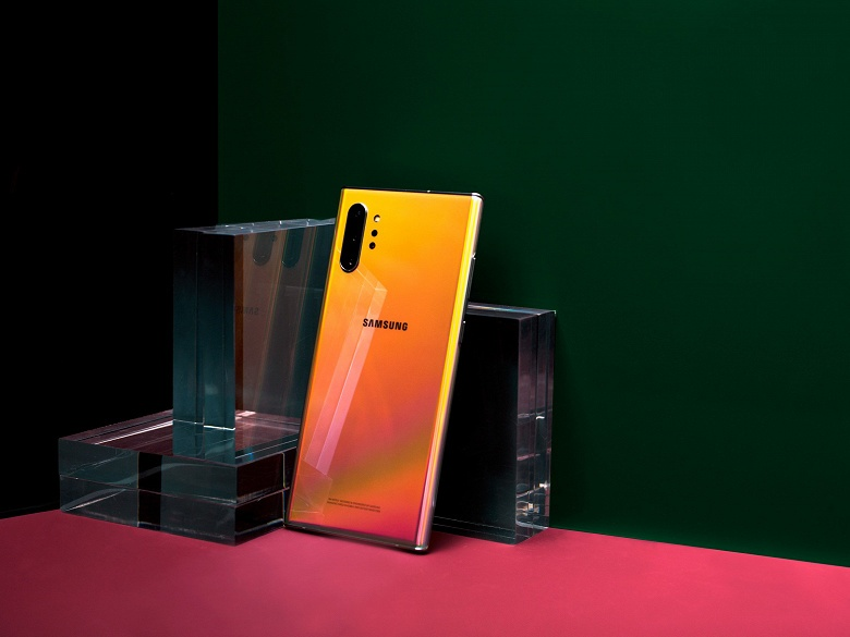 Samsung Galaxy Note10 и Note10+ получили экомаркировку «Листок жизни»