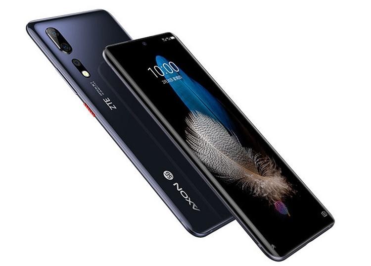 5G-смартфон ZTE Axon 10s Pro: подробности и изображения