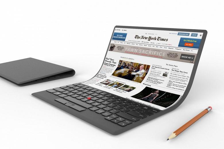Компания Intel пока не готова продвигать ноутбуки со складным экраном