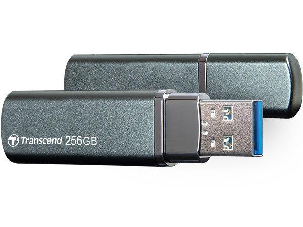 Флешка Transcend JetFlash 910 демонстрирует скорость записи до 400 МБ/с и скорость чтения до 420 МБ/с