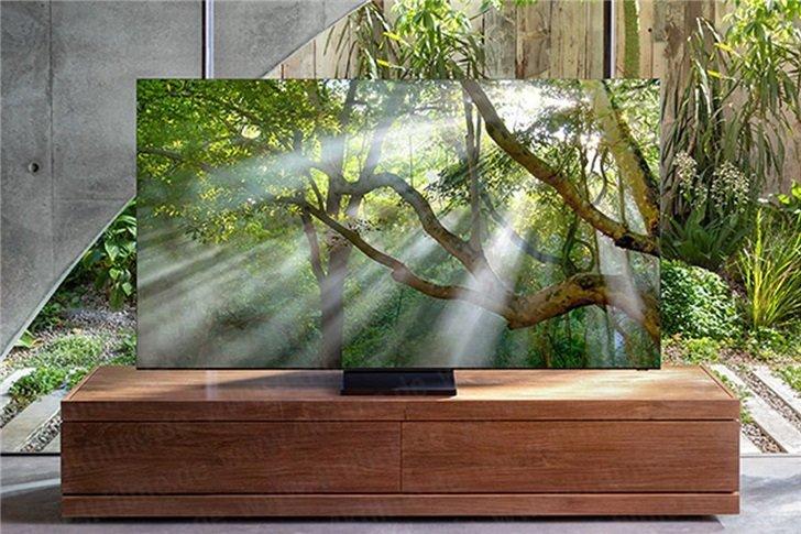 Samsung показала флагманские безрамочные телевизоры QLED 8К