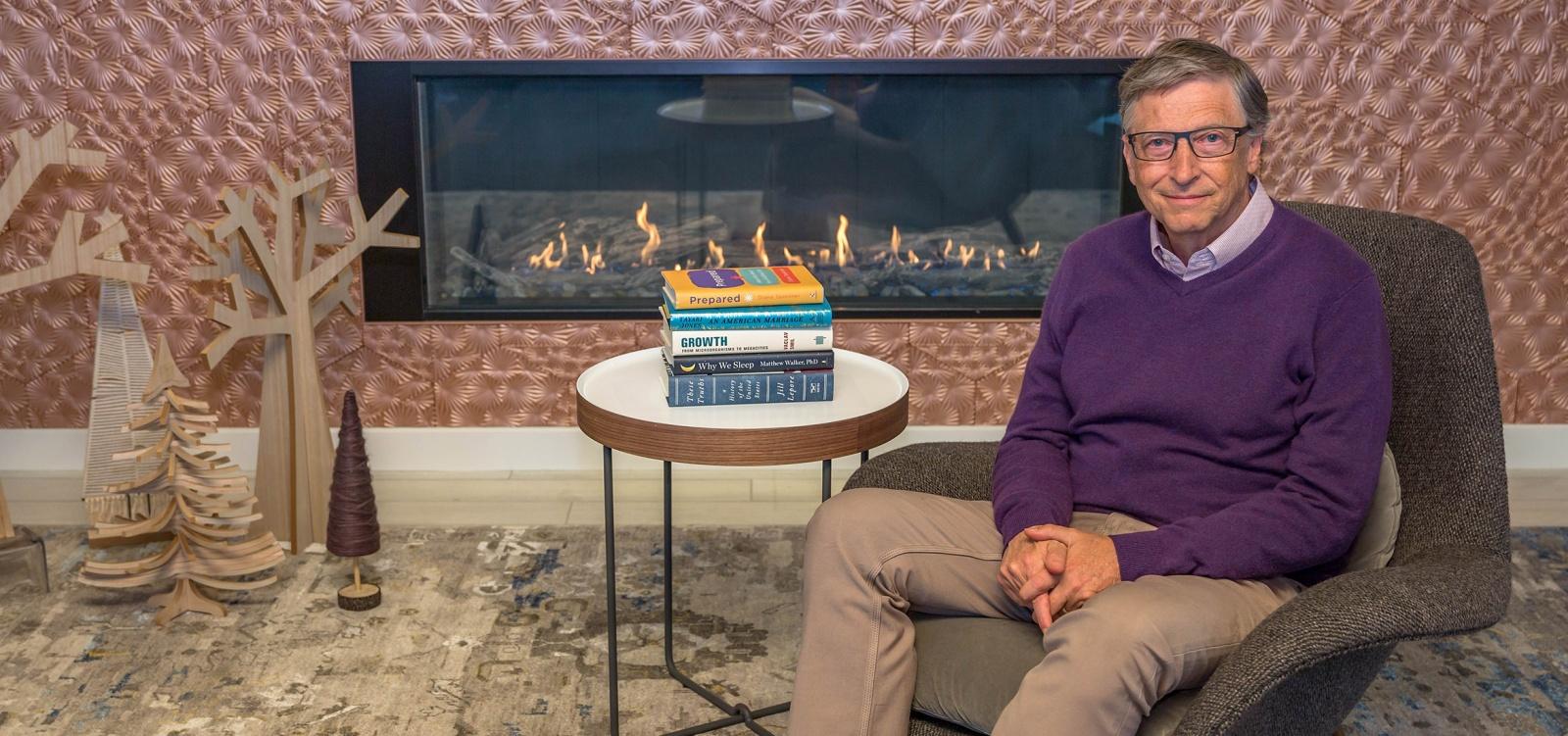 Традиционные 5 книг от Билла Гейтса - 1