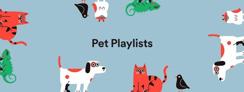 В Spotify появилась функция генерации плейлистов для домашних питомцев