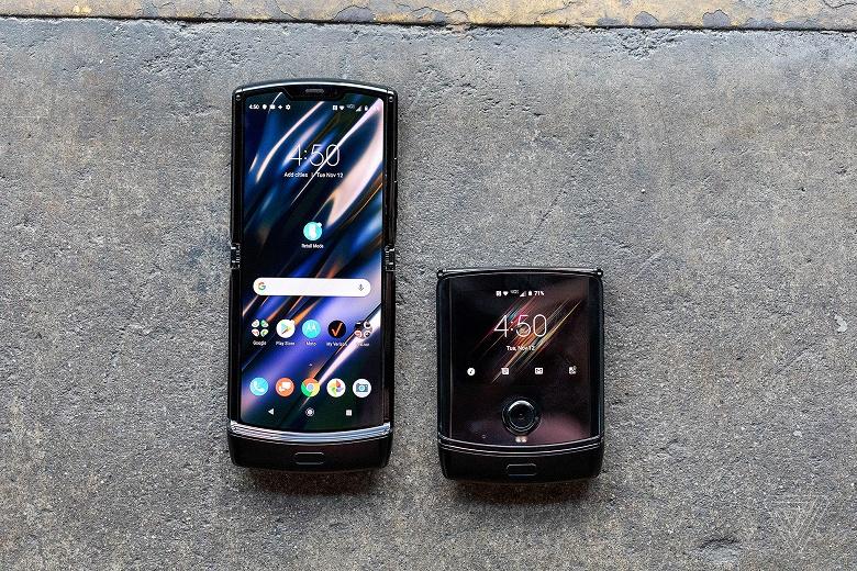 Спрос на уникальный Motorola Razr 2019 оказался запредельным