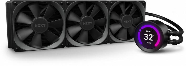 В сериях NZXT Kraken Z-3 и Kraken X-3 насчитывается пять моделей систем жидкостного охлаждения