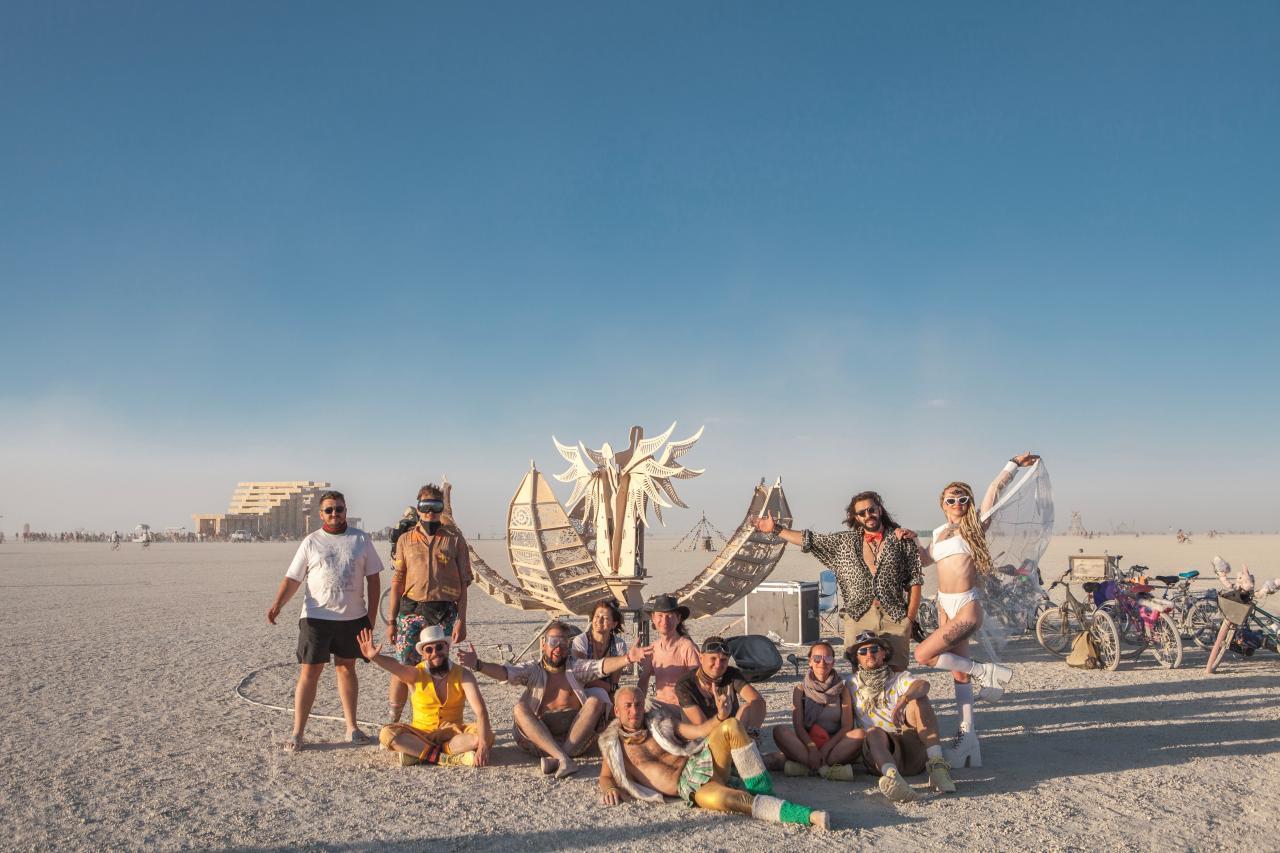 Создание арт-объекта для Burning Man - 2