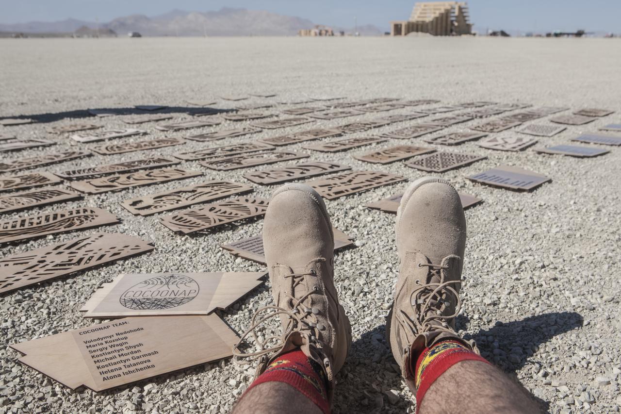 Создание арт-объекта для Burning Man - 24