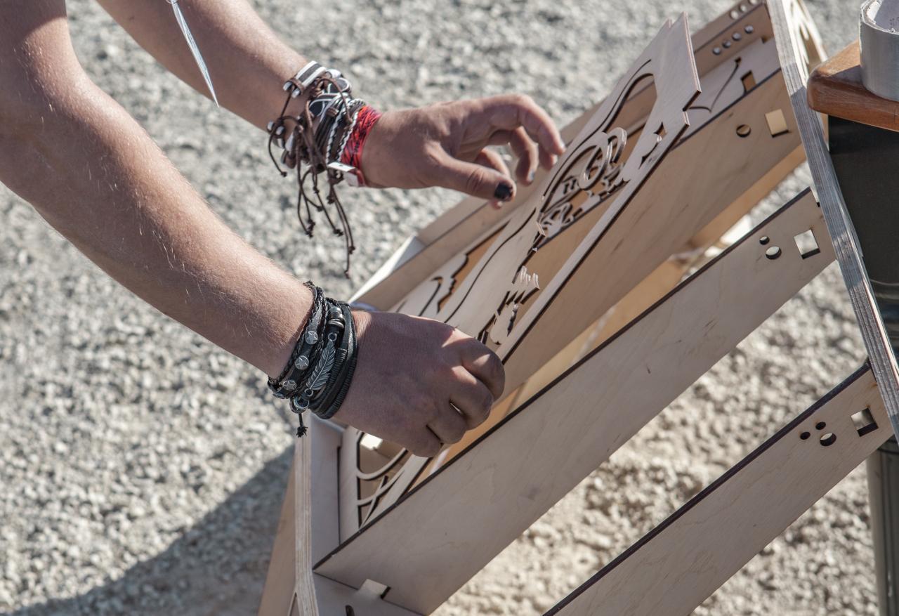 Создание арт-объекта для Burning Man - 25