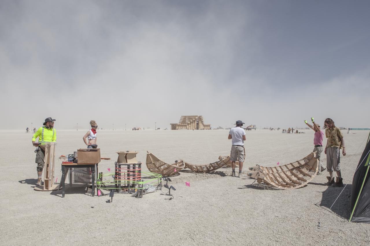 Создание арт-объекта для Burning Man - 26