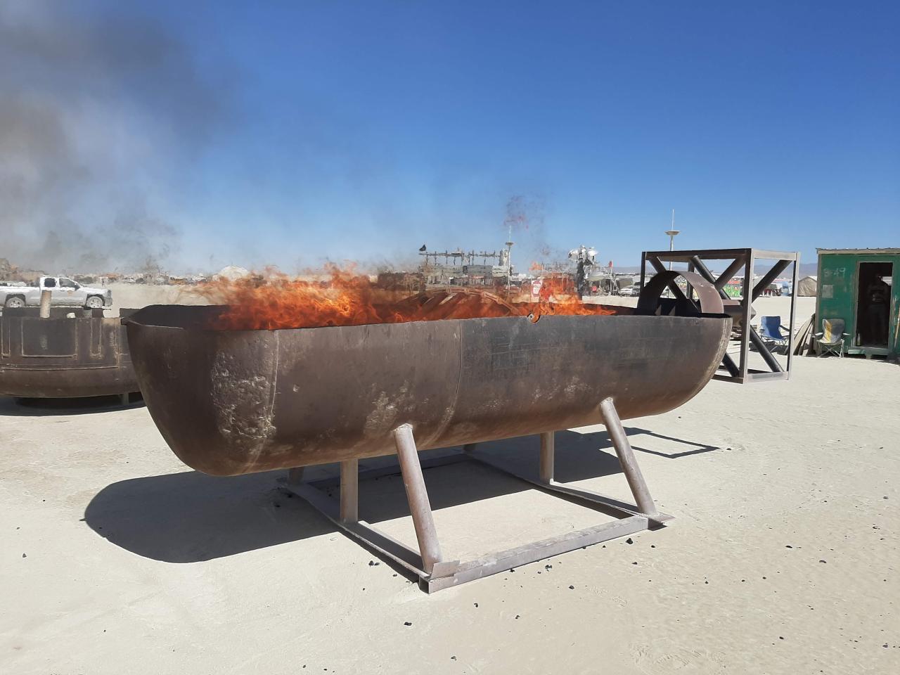 Создание арт-объекта для Burning Man - 30