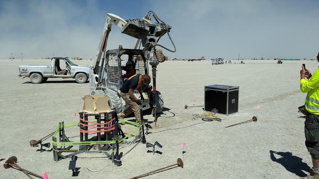 Создание арт-объекта для Burning Man - 4