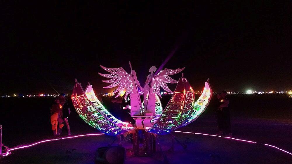 Создание арт-объекта для Burning Man - 1