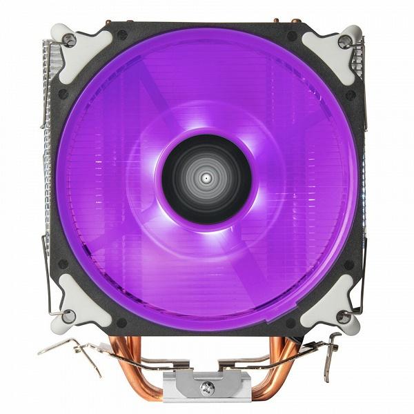 Процессорная система охлаждения SilverStone Argon AR12 RGB рассчитана на процессоры с TDP до 125 Вт