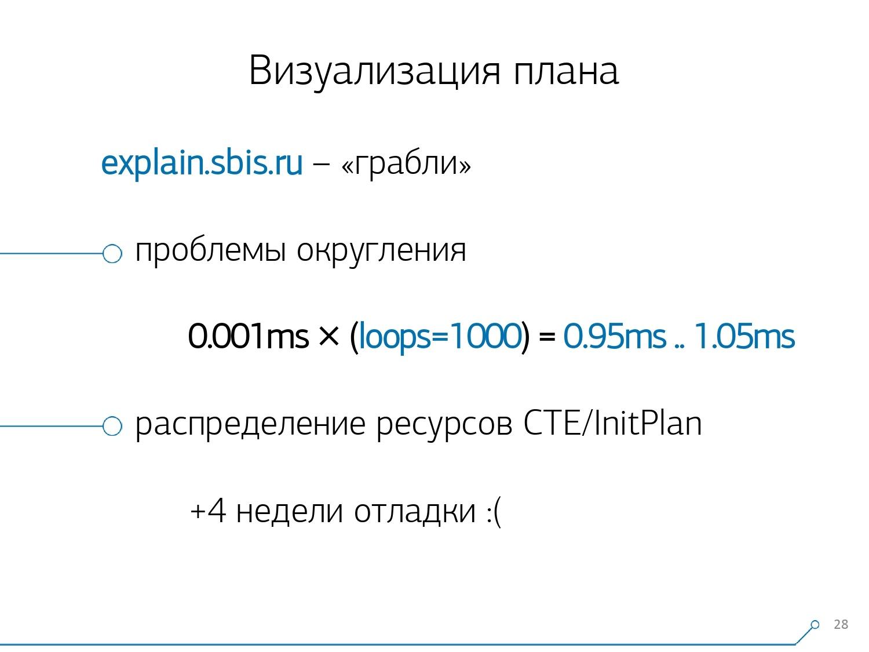 Массовая оптимизация запросов PostgreSQL. Кирилл Боровиков (Тензор) - 13