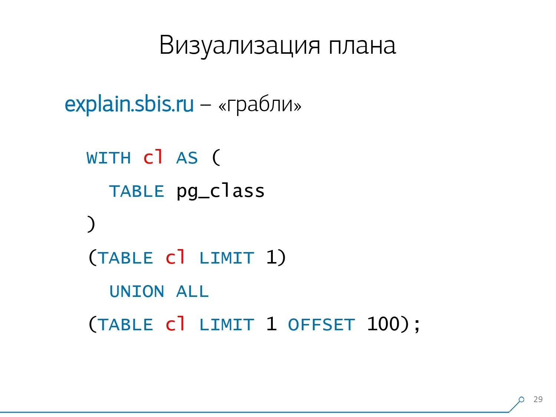 Массовая оптимизация запросов PostgreSQL. Кирилл Боровиков (Тензор) - 14