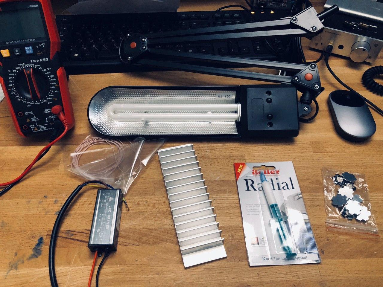 Экспресс UV лампа своими руками 400-405 нм для полимеризации 3D фотополимерных моделей - 2