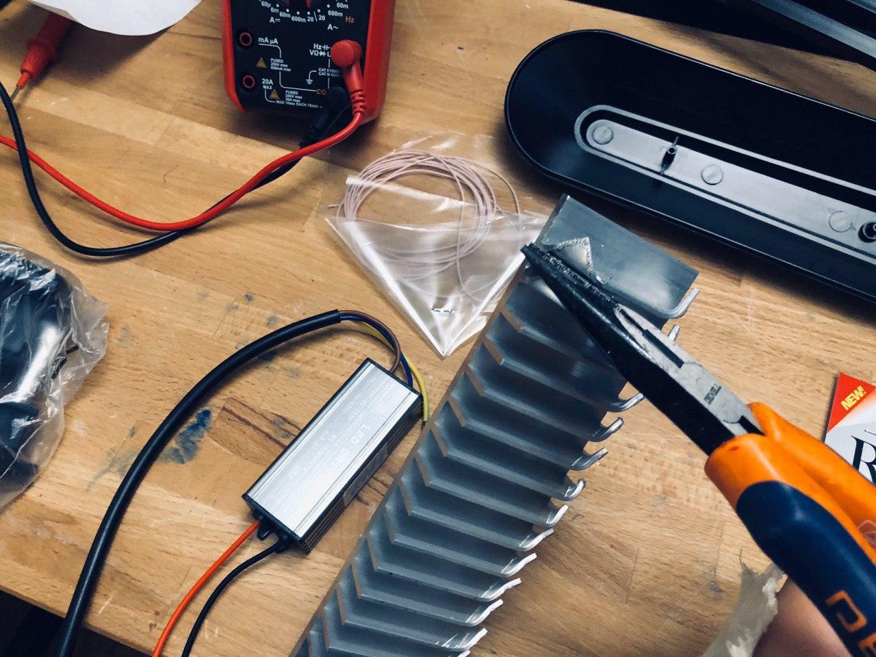 Экспресс UV лампа своими руками 400-405 нм для полимеризации 3D фотополимерных моделей - 4