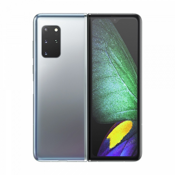 Samsung Galaxy Fold 2 порадует стилусом и камерой. Появился качественный рендер