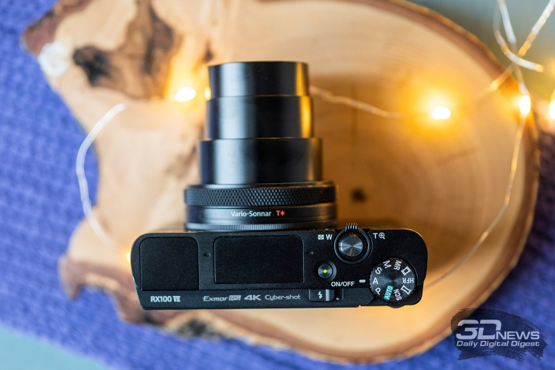 Новая статья: Обзор фотокамеры Sony RX100 VII: элитная карманная камера