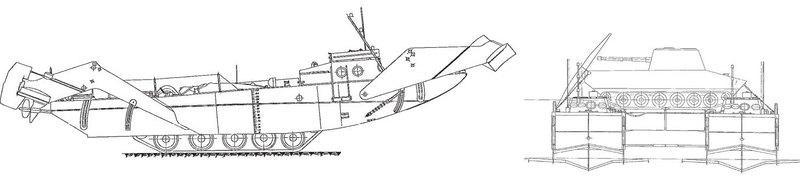Танк на подводных крыльях: знаменитый советский проект - 5