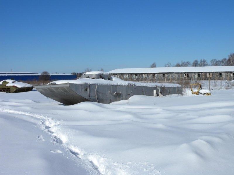 Танк на подводных крыльях: знаменитый советский проект