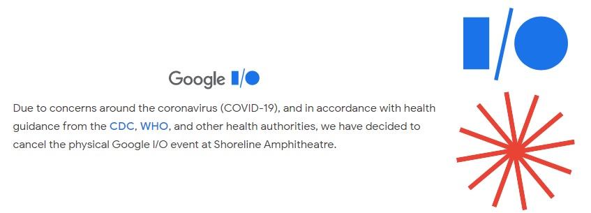 Google отменила все очные мероприятия конференции Google I-O 2020 из-за коронавируса - 1