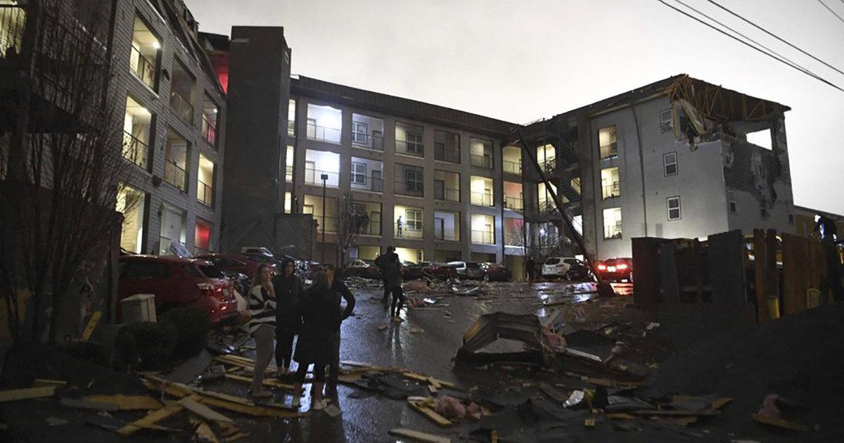Из-за торнадо в Теннесси погибли 23 американца