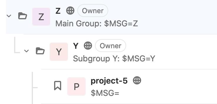 Как Gitlab-CI наследует переменные окружения? - 6