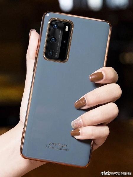 Huawei P40 Pro в руках пользователя