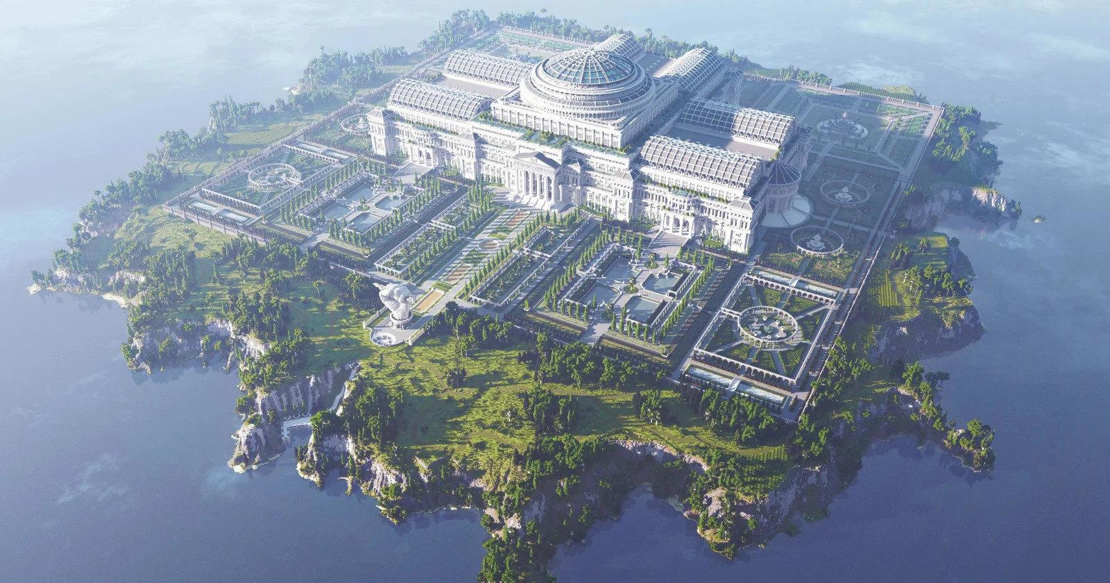 В Minecraft построили библиотеку зацензуренных текстов со всего мира